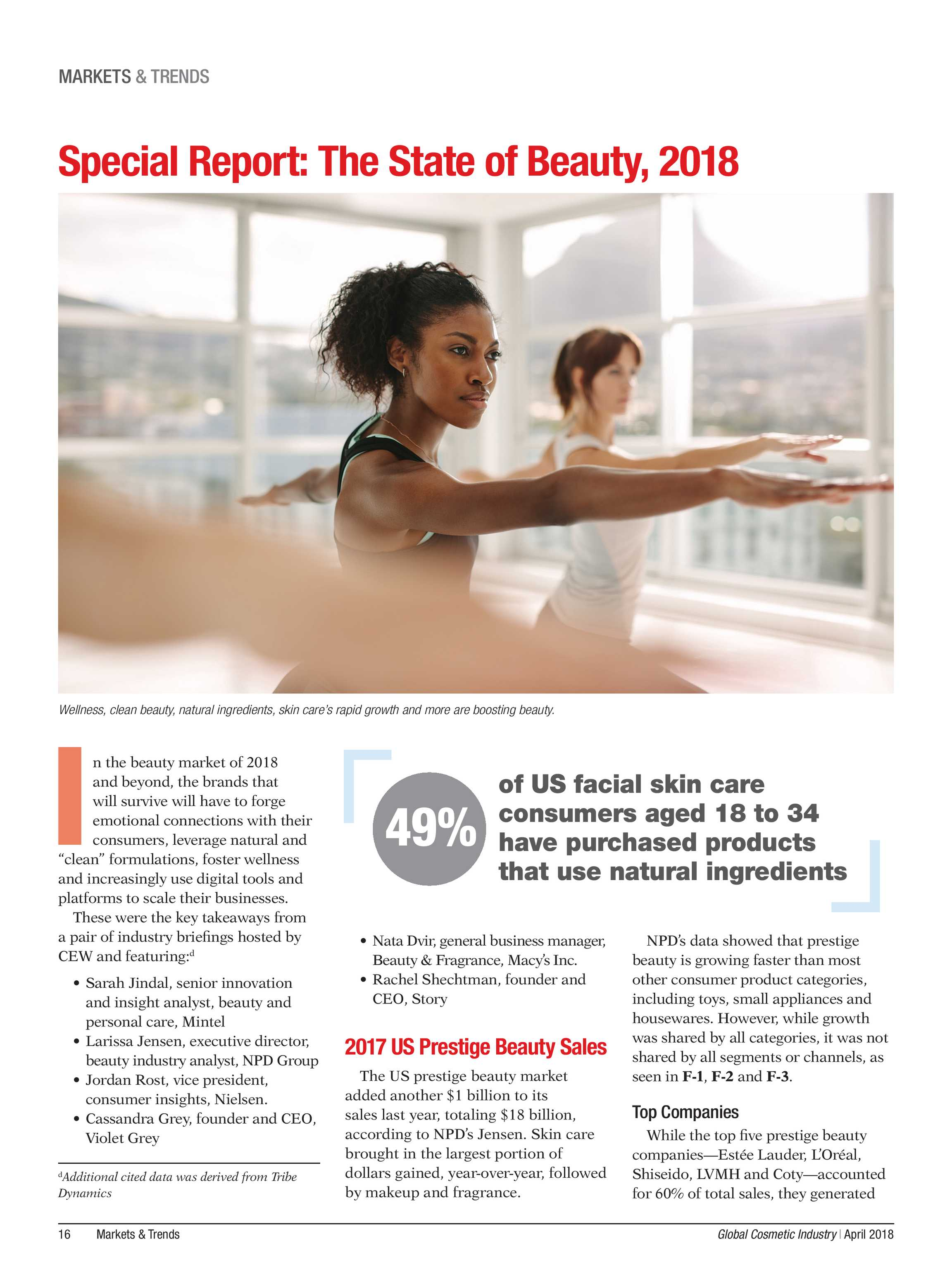 Global Cosmetic Industry Magazine - page 16