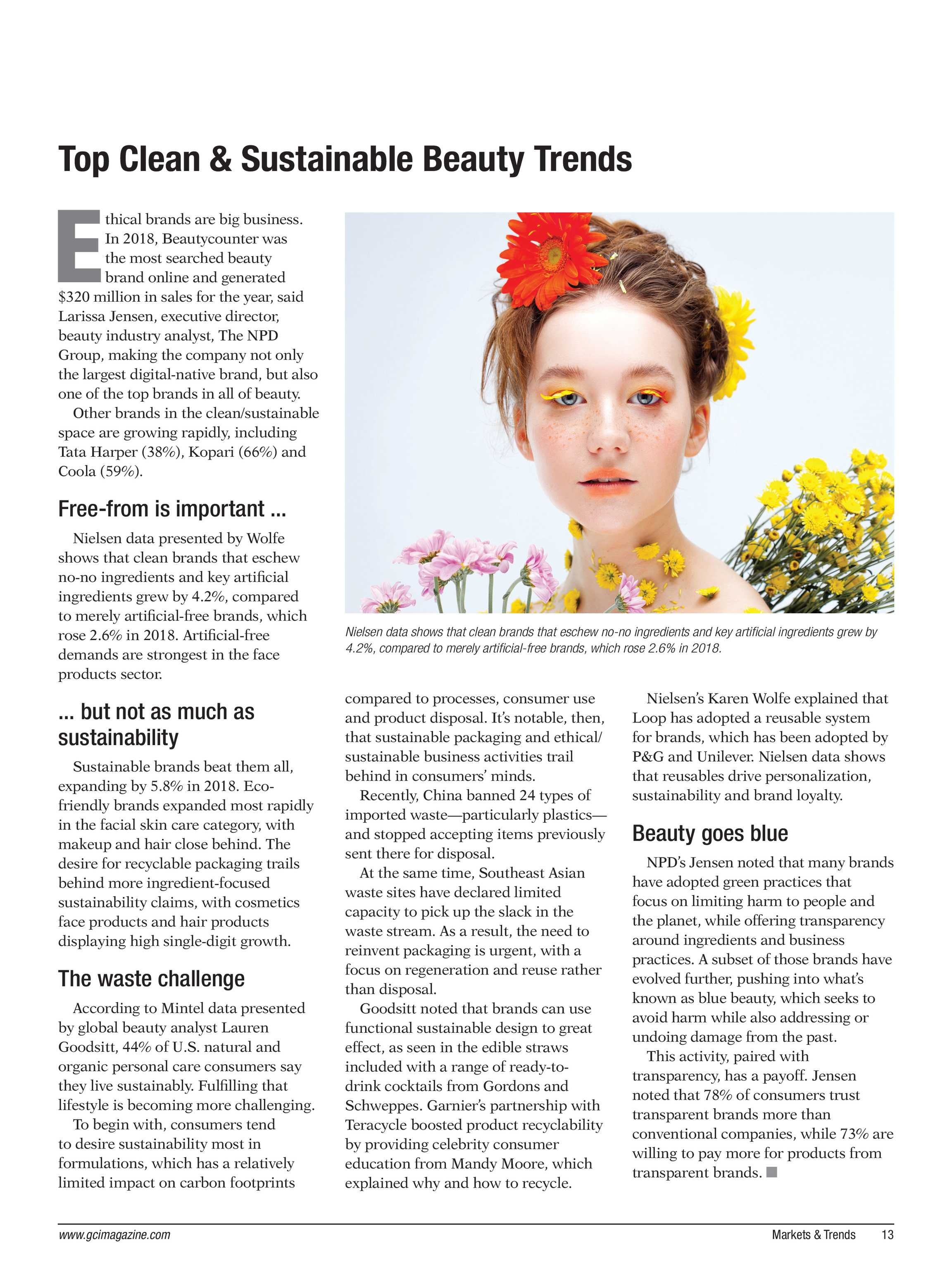 Global Cosmetic Industry Magazine - April 2019 - page 12